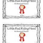 &quot;Little Red Riding Hood: An Emergent Reader&quot; (Sight Word F