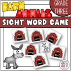 Little Sheep Sight Word Game Grade Three Dolch Word List