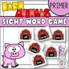 Little Sheep Sight Word Game Primer Dolch Word List