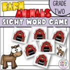 Little Sheep sight Word Game Grade Two Dolch Word List