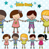 Little Stars Digital Clipart - Clip Art for Commercial and