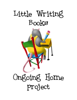 Little Writing Books Home project