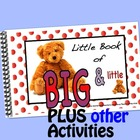 Little interactive book:  Big & Little
