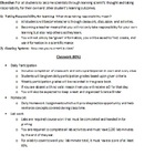 Living Environment (Biology) Course Contract