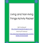Living and Non-living Thing Pack