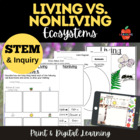 Living vs. Nonliving Science Lessons, Graphic Organizers,