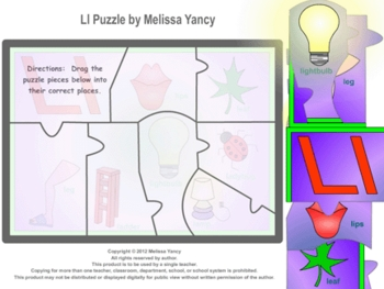 Ll Puzzle by Melissa Yancy for mac