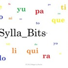 Ll-Z SyllaBits Spanish Compiled Open Syllables Silabas Abiertas