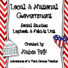 Local &amp; National Government Lapbook Unit