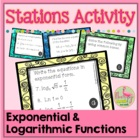 Logarithms Lab Activity