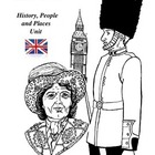 London, England, History, People and Places Unit Activitie