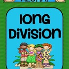Long Division Activity- Aloha Themed