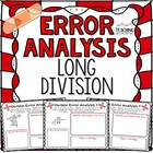 Long Division Error Analysis  { Division Center, Enrichmen
