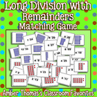 Long Division Game with Remainders