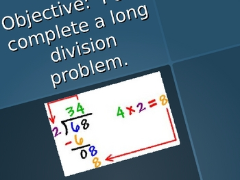 Long Division PowerPoint - Step By Step
