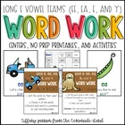 Long E Activity Packet {spelled ee, ea, e, and y}