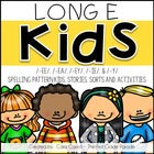 Long E Kids {Stories, Sorts, &amp; Activities}