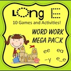 Long E - Word Work Mega Pack