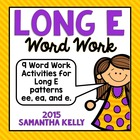 Long E Word Work
