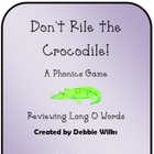 Long I Phonics Game Pack - Don't Rile the Crocodile