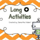 Long O Activities (Printables and Centers for K-1)