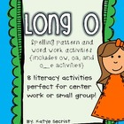 Long O Activities