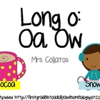 Long O- Oa,Ow (Reading Street Unit 4, Week3) 