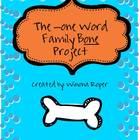 Long O Word Work: The -one Word Family Bone Project
