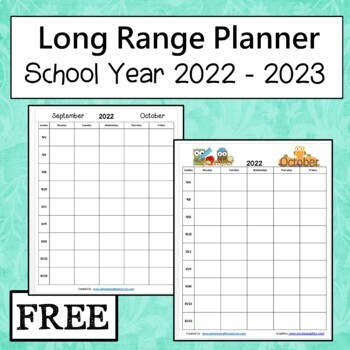 Long Range Planning Guide 2012 to 2013 School Year