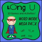 Long U Word Work Pack