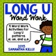 Long U Word Work