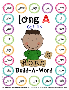 Long Vowel Build-A-Word