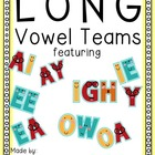 Long Vowel Combinations Activity Packet