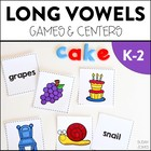 Long Vowel Games &amp; Centers