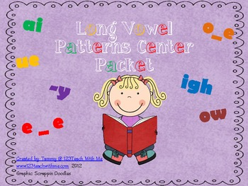 Long Vowel Patterns Packet