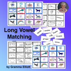 Long Vowel Picture Word Match-up