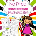 Long Vowel Printables