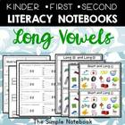 Long Vowel Printables for K-2 Journals