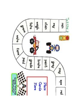 Long Vowel Racetrack