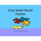 Long Vowel Sound Puzzles (Five)