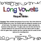 Long Vowels Word Work/ Language Arts Game (Common Core RF 2.3)