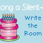 Long a, Silent e Write the Room