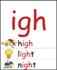 Long and R-Controlled Vowels: Illustrated Phonics Word Wall