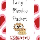 Long i Phonics Packet