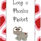 Long o Phonics Packet