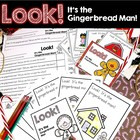 Look!  It&#039;s the Gingerbread Man!  Emergent Reader Activities