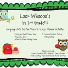 Look Whooo's in 2nd Grade! Back To School Literacy Center