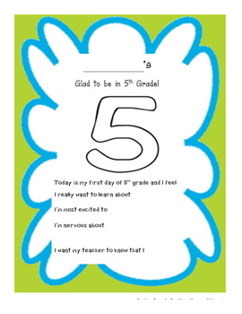 Lookin' forward to 5th Grade!!