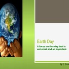 Looking At Earth Day