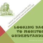 Looking Back to Monitor Understanding Reading Strategy PowerPoint